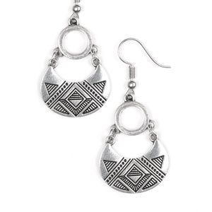 West Side Wild - Silver Earrings
